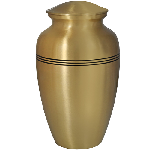 Golden Classic Series 200 cu in Cremation Urn-Cremation Urns-New Memorials-Afterlife Essentials