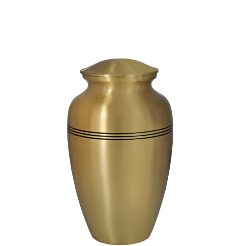 Golden Classic Series 60 cu in Cremation Urn-Cremation Urns-New Memorials-Afterlife Essentials