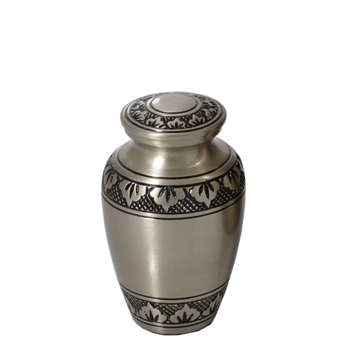 Tranquil Forest Pewter Series 3 cu in Cremation Urn-Cremation Urns-New Memorials-Afterlife Essentials