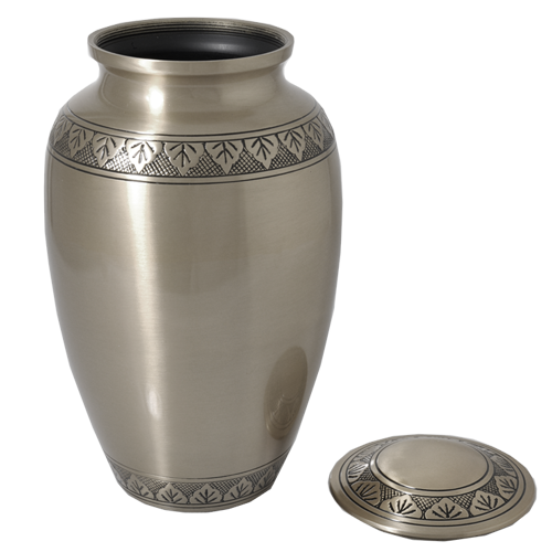 Tranquil Forest Pewter Series 200 cu in Cremation Urn-Cremation Urns-New Memorials-Afterlife Essentials