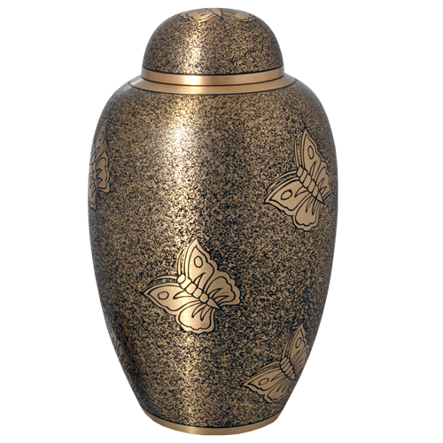 Antique Butterfly 200 cu in Cremation Urn-Cremation Urns-New Memorials-Afterlife Essentials