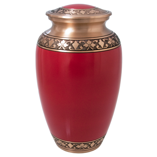 Cherry Red Series 200 cu in Cremation Urn-Cremation Urns-New Memorials-Afterlife Essentials