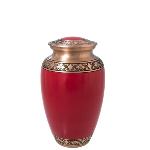 Cherry Red Series 60 cu in Cremation Urn-Cremation Urns-New Memorials-Afterlife Essentials