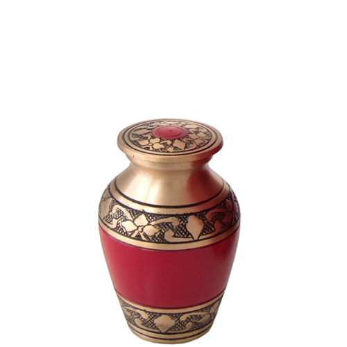 Cherry Red Series 3 cu in Cremation Urn-Cremation Urns-New Memorials-Afterlife Essentials