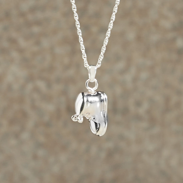 Baby Bootie Pendant Cremation Jewelry-Jewelry-Infinity Urns-Afterlife Essentials