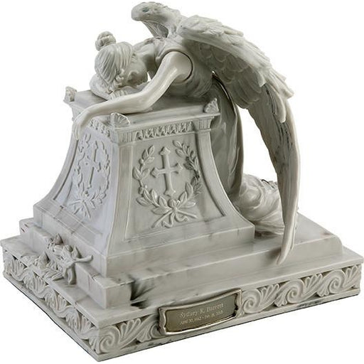Angel in Mourning Cremation Urn - Adult/Large-Cremation Urns-Urns of Distinction-Afterlife Essentials
