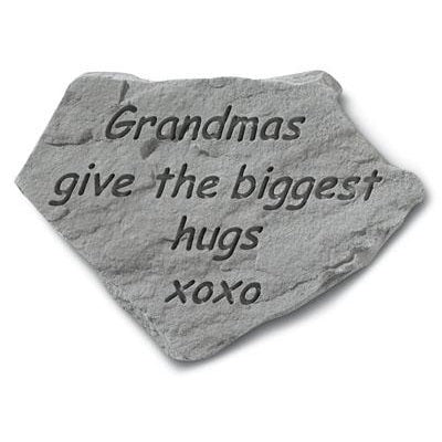 Grandmas give the… Memorial Gift-Memorial Stone-Kay Berry-Afterlife Essentials