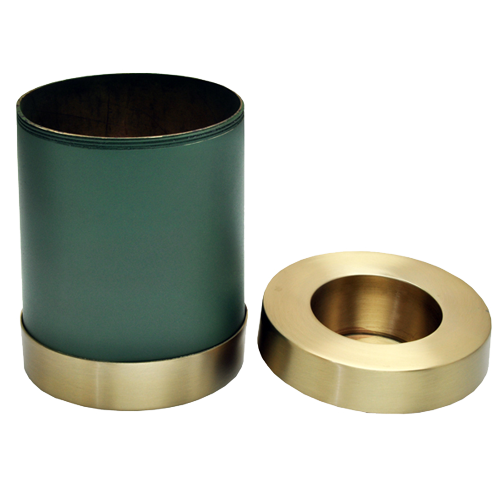 Candle Holder Series Round Sage Green in Cremation Urn-Cremation Urns-New Memorials-Afterlife Essentials