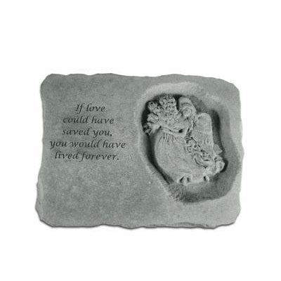 If love could… w/angel Memorial Gift-Memorial Stone-Kay Berry-Afterlife Essentials