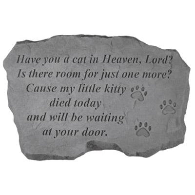 Have you a cat in Heaven… Memorial Gift-Memorial Stone-Kay Berry-Afterlife Essentials
