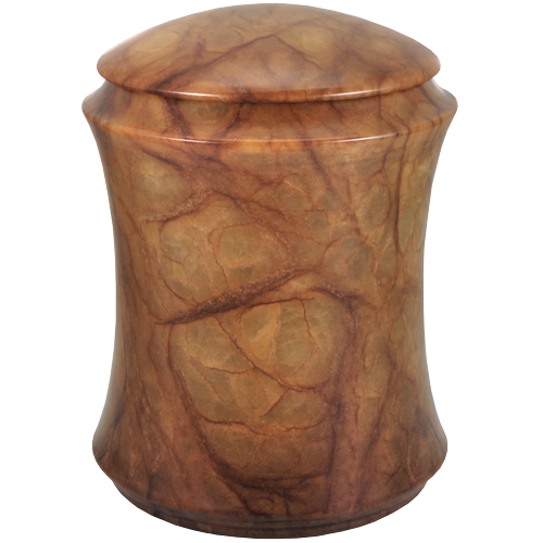 Alabaster Stone Elegant 162 cu in Cremation Urn-Cremation Urns-New Memorials-Afterlife Essentials