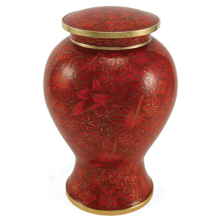 Etienne Autumn Leaves Large/Adult Cremation Urn-Cremation Urns-Terrybear-Afterlife Essentials