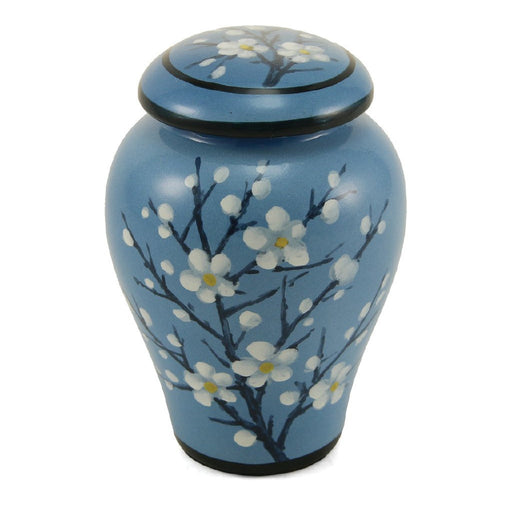 Floral Plum Blossom 4 Keepsake Set Cremation Urn-Cremation Urns-Terrybear-Afterlife Essentials