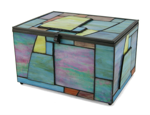 Paragon Geometric Memory Chest Cremation Urn-Cremation Urns-Terrybear-Afterlife Essentials