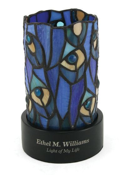 Paragon Peacock LED Lamp Keepsake Cremation Urn-Cremation Urns-Terrybear-Afterlife Essentials