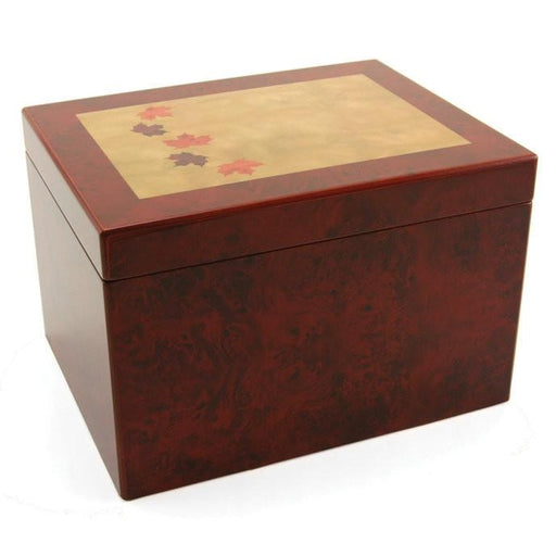 Autumn Leaves Large Memory Chest-Cremation Urns-Terrybear-Afterlife Essentials
