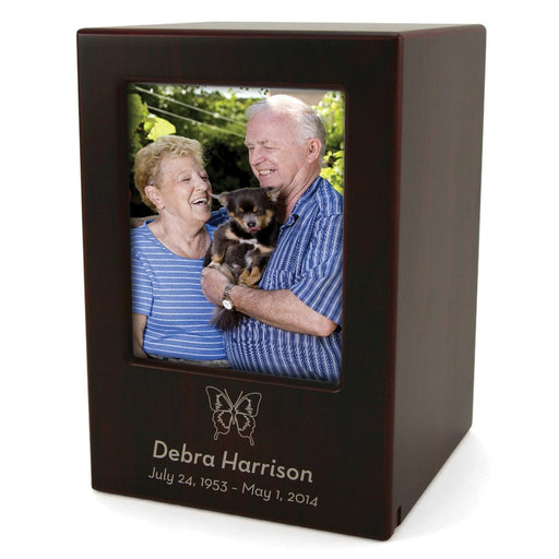 Cherry Large/Adult Photo Cremation Urn-Cremation Urns-Terrybear-Afterlife Essentials