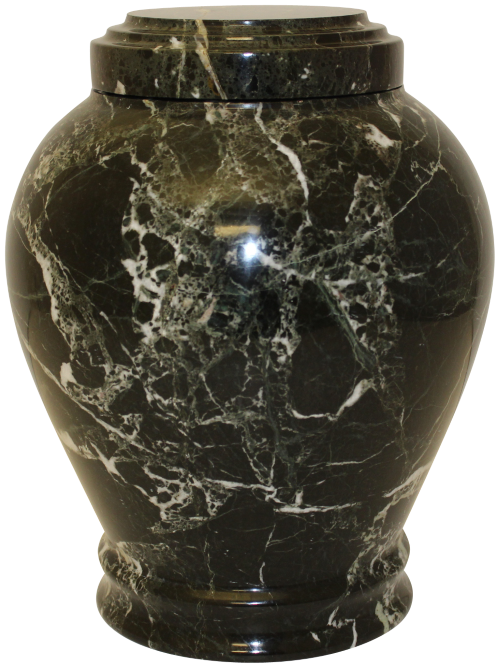 Embrace Natural Marble Adult 220 cu in Cremation Urn-Cremation Urns-Bogati-Green-Afterlife Essentials