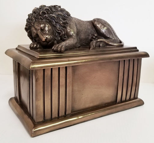The Lion Sleeps Tonight Cremation Urn-Cremation Urns-Urns of Distinction-Afterlife Essentials