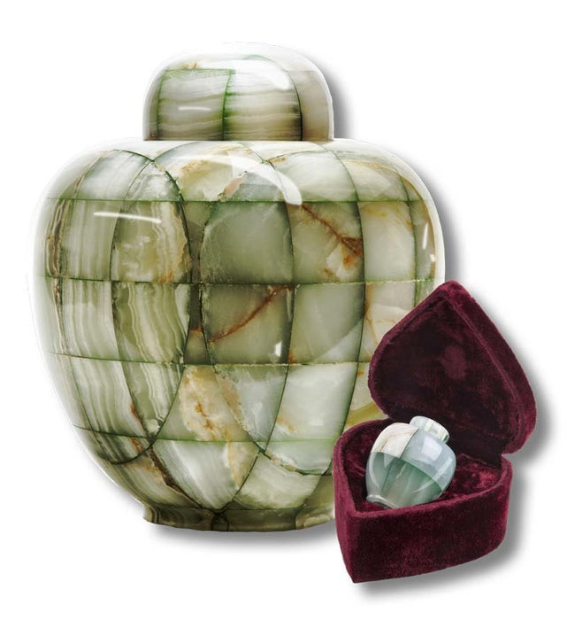 GT1 Mosaic Marble Keepsake Cremation Urn-Cremation Urns-Urns of Distinction-Afterlife Essentials