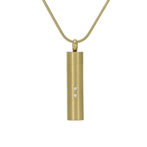 Companion Cylinder Necklace Cremation Jewelry-Jewelry-Terrybear-Bronze-Afterlife Essentials