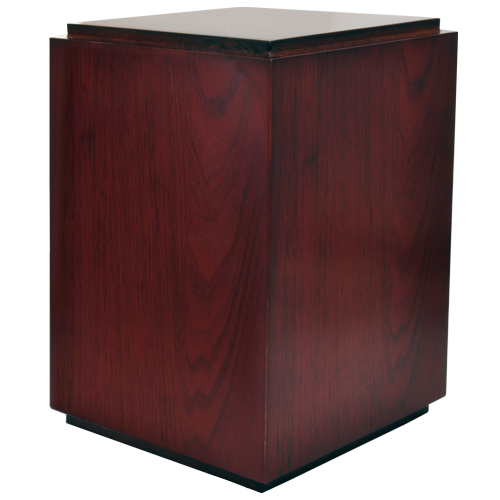 Classic Cherry Finish Wood 200 cu in Cremation Urn-Cremation Urns-New Memorials-Afterlife Essentials