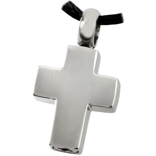 Stainless Steel Remembrance Cross Pendant Cremation Jewelry-Jewelry-New Memorials-Afterlife Essentials