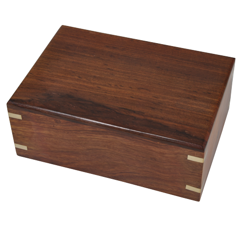 Perfect Simple Wood Box Dog 38 cu in Cremation Urn-Cremation Urns-New Memorials-Afterlife Essentials