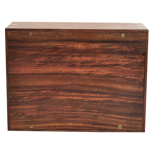 Perfect Simple Wood Box 87 cu in Cremation Urn-Cremation Urns-New Memorials-Afterlife Essentials