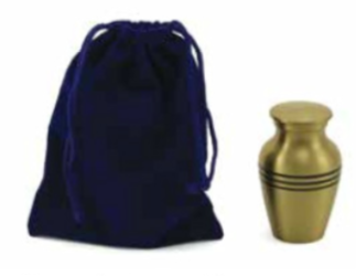 Sapphire Velvet Keepsake Bag-Accessories-Terrybear-Afterlife Essentials