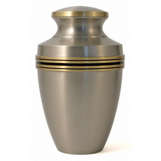 Grecian Pewter Large/Adult Cremation Urn-Cremation Urns-Terrybear-Afterlife Essentials