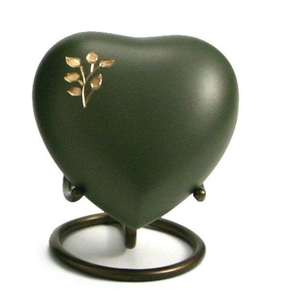 Aria Tree of Life Heart Keepsake with velvet box Cremation Urn-Cremation Urns-Terrybear-Afterlife Essentials