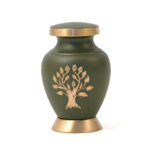 Aria Tree of Life Individual Keepsake with velvet bag Cremation Urn-Cremation Urns-Terrybear-Afterlife Essentials