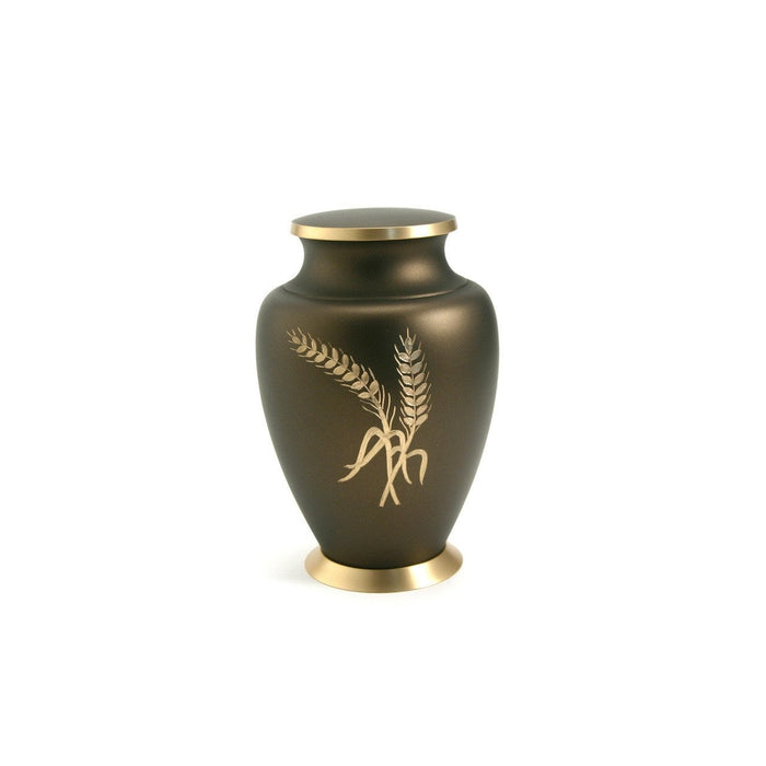 Aria Wheat Large/Adult Cremation Urn-Cremation Urns-Terrybear-Afterlife Essentials