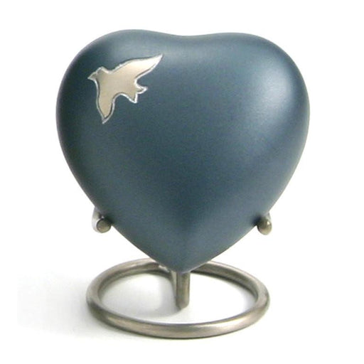 Aria Ascending Heart Keepsake with velvet box Cremation Urn-Cremation Urns-Terrybear-Afterlife Essentials
