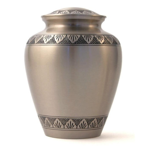 Athena Elite Pewter Large/Adult Cremation Urn-Cremation Urns-Terrybear-Afterlife Essentials