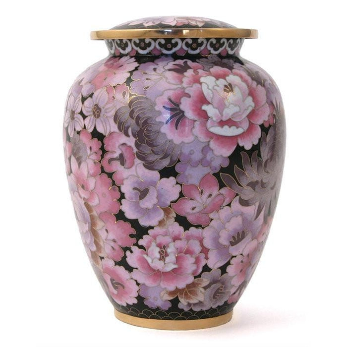 Elite Floral Blush Large/Adult Cremation Urn-Cremation Urns-Terrybear-Afterlife Essentials