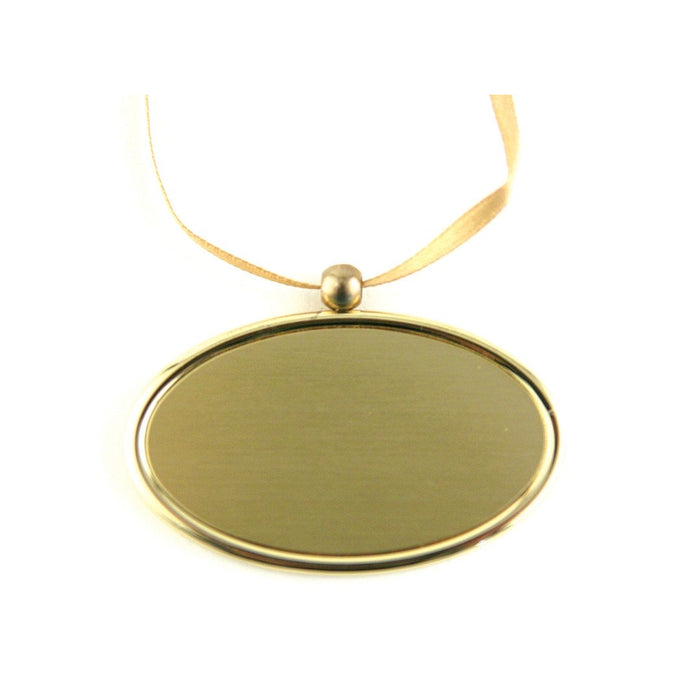 Golden Oval Urn Pendant-Jewelry-Terrybear-Afterlife Essentials