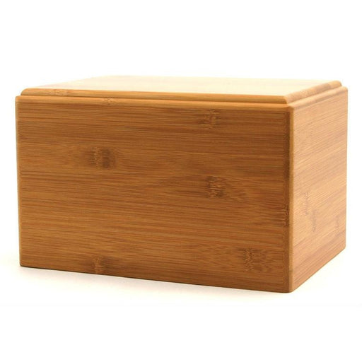 Bamboo Box Large/Adult Cremation Urn-Cremation Urns-Terrybear-Afterlife Essentials
