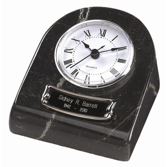 BM-71 Mini Clock Marble Keepsake Cremation Urn-Cremation Urns-Urns of Distinction-Afterlife Essentials