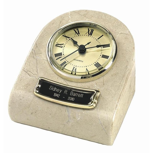 CM-71 Mini Clock Marble Keepsake Cremation Urn-Cremation Urns-Urns of Distinction-Afterlife Essentials
