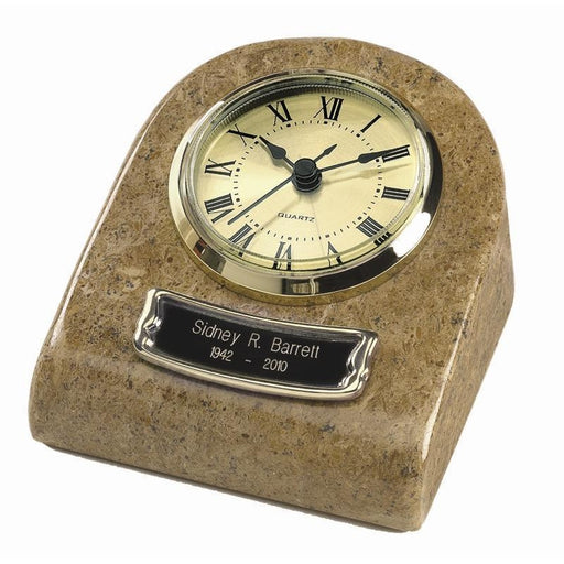 TT-71 Mini Clock Marble Keepsake Cremation Urn-Cremation Urns-Urns of Distinction-Afterlife Essentials