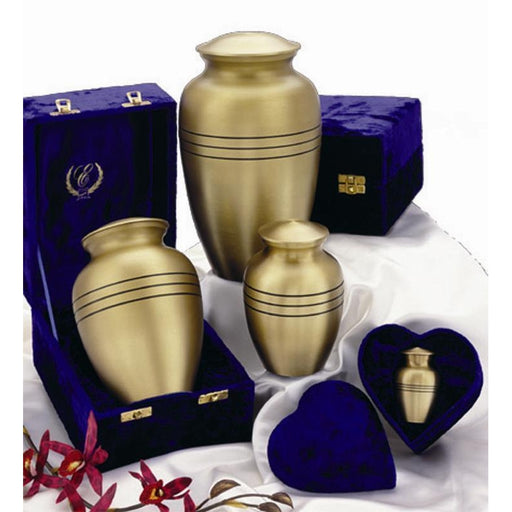 "507/10"" Classic Solid Brass Cremation Urn-Cremation Urns-Urns of Distinction-Afterlife Essentials"