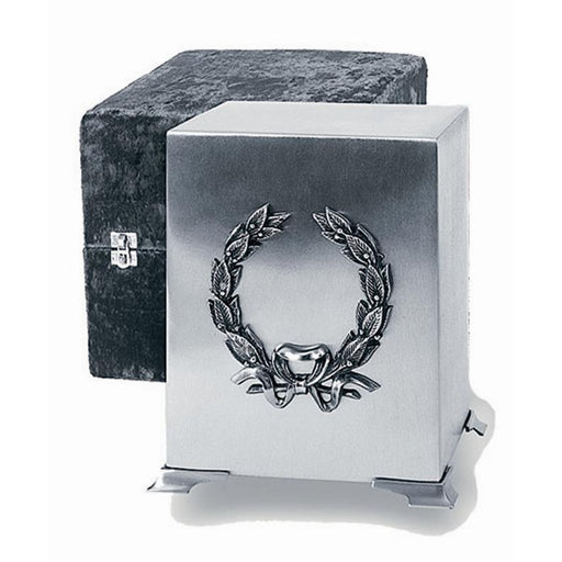707 Pewter Wreath Cremation Urn-Cremation Urns-Urns of Distinction-Afterlife Essentials