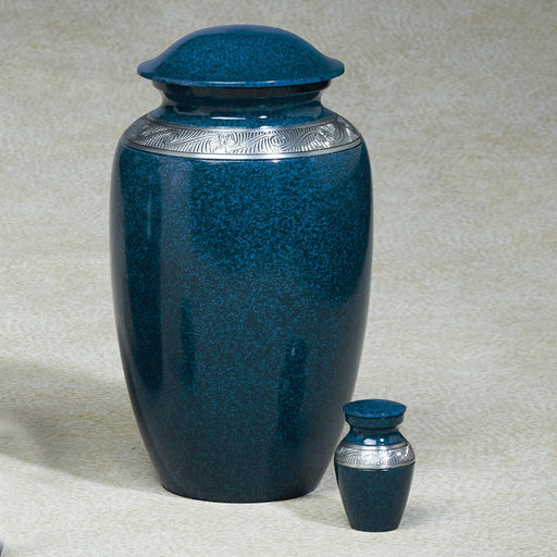 Atlantic Shores Aluminim 202 cu in Cremation Urn-Cremation Urns-Infinity Urns-Afterlife Essentials