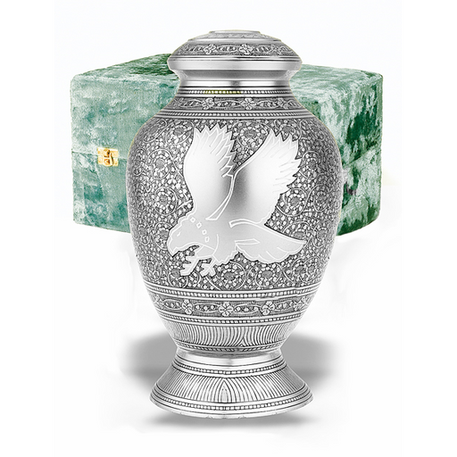 "105/11.75"" Eagle Cremation Urn-Cremation Urns-Urns of Distinction-Afterlife Essentials"