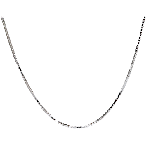 "Sterling Silver Box Chain 24"" Cremation Jewelry - Afterlife Essentials"