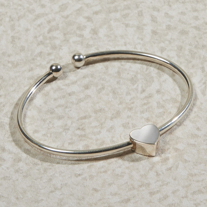 Heart Bracelet Cremation Jewelry-Jewelry-Infinity Urns-Afterlife Essentials
