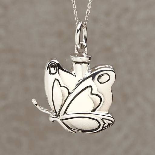 Butterfly Pendant Cremation Jewelry-Jewelry-Infinity Urns-Afterlife Essentials