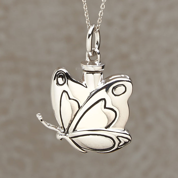 Butterfly Pendant Cremation Jewelry